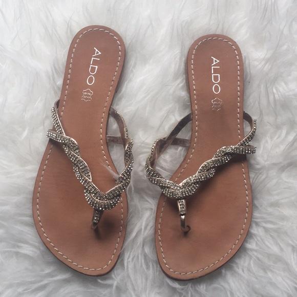 Aldo Shoes - ALDO Genuine Leather Sandals